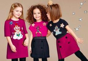 Scopri Dolce & Gabbana Collezione Bambino Autunno Inverno 2016 2017  Bambina e lasciati ispirare.