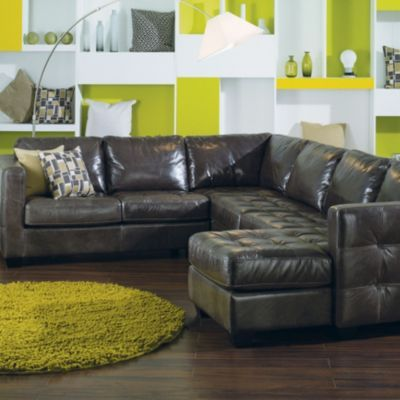 Palliser Barrett U-Shaped Sectional : leather u shaped sectional - Sectionals, Sofas & Couches