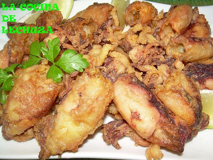 Chipirones fritos https://www.quecocinohoy.com/receta/chipirones-fritos #FelizLunes #Recetas #VidaSana