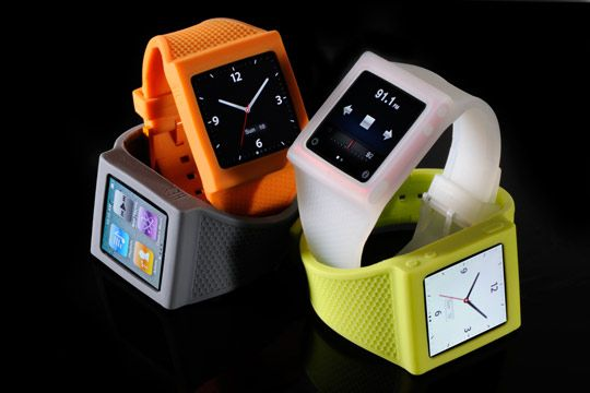 iPod Nano Watch! Umm, what a cool idea? As much of an Apple fangirl I am, I do not have a nano currently but this is on my list for the future!