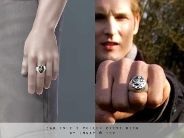 lmway's The Twilight Saga - Carlisle's Cullen Crest Ring