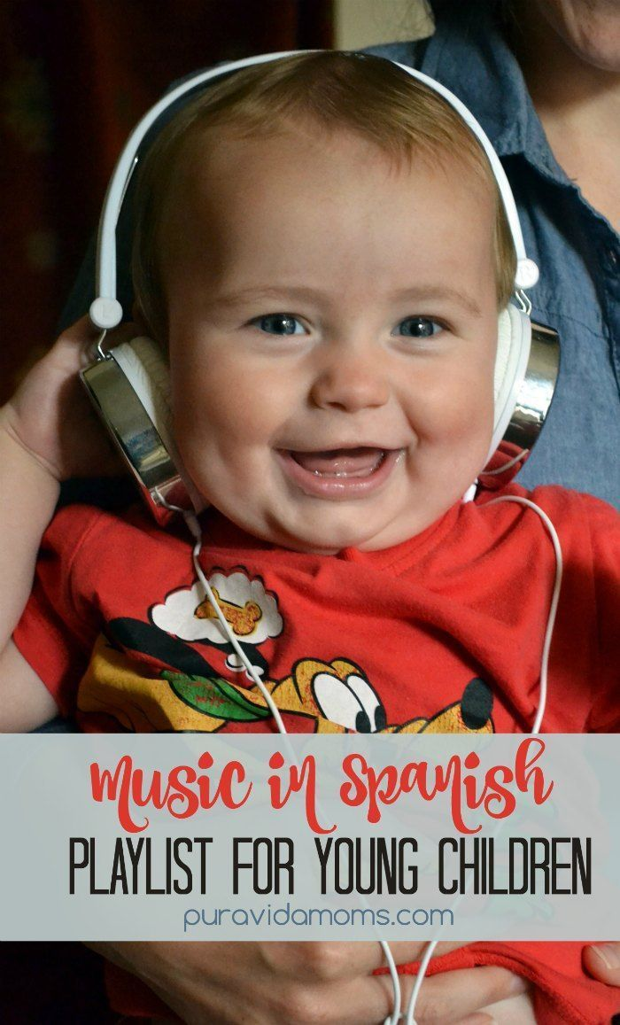 Ten fun and educational songs in Spanish for young children.