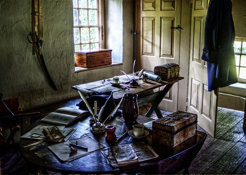 General varnum quarters the office valley forge 18th for Craft in america forge