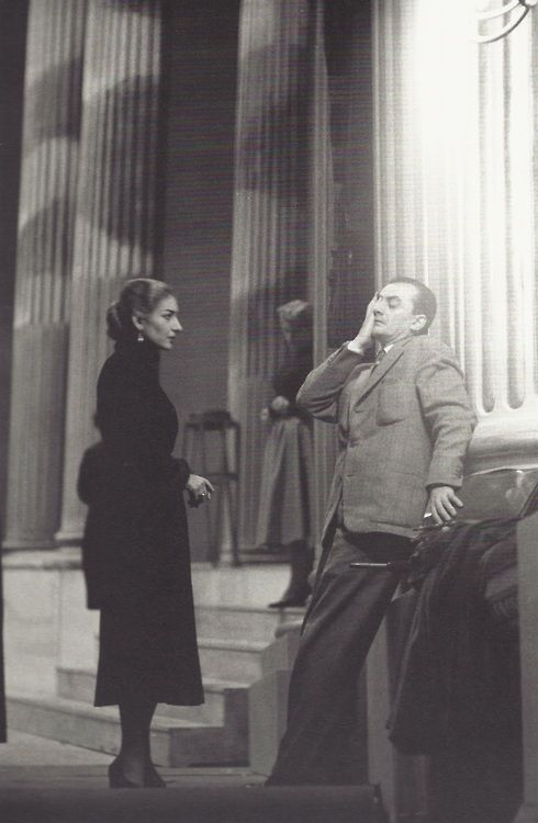 Maria Callas et Luchino Visconti