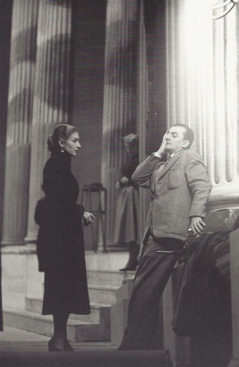 Maria Callas et Luchino Visconti