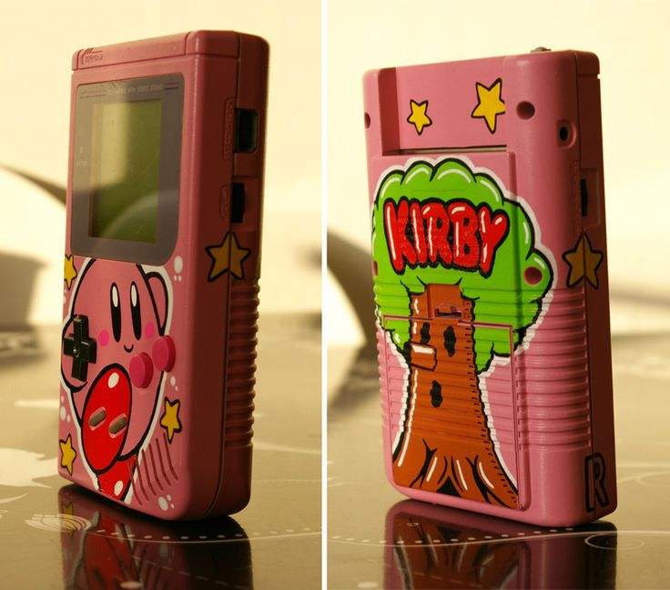 Custom Kirby Gameboy by Oskunk