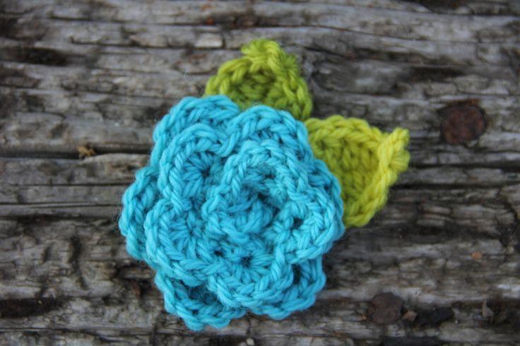 alipyper - crochet flower pin beginning crochet class at harmonyprovo.com