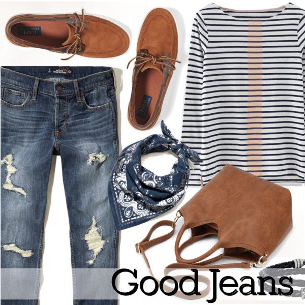 How To Wear Good Jeans Outfit Idea 2017 - Fashion Trends Ready To Wear For Plus Size, Curvy Women Over 20, 30, 40, 50