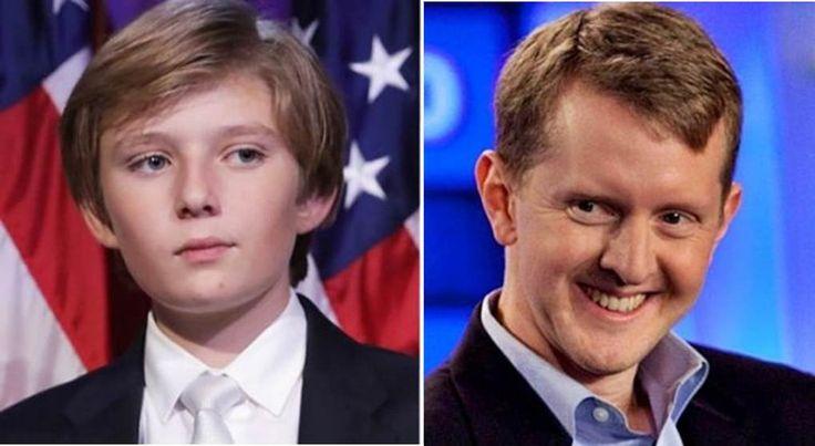 'Jeopardy!' Winner Ken Jennings Mocks Barron Trump Over Beheading — Not Laughing Now