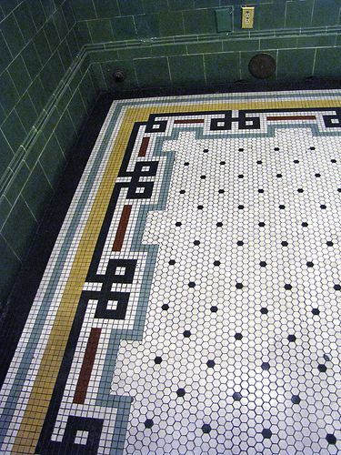 Union Station tile work