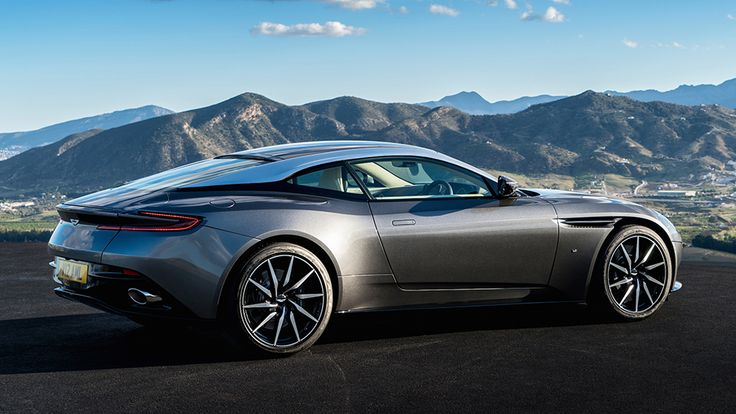 2017 Aston Martin DB11 .... The jury is out for myself! Not keen on the front wheelarch treatment, the elongated Mondeo grille is boring (Aston lost their identity by letting Ford clone their grille design) and the floating roof may look okay on a 4x4, such as Evoque, but not a coupe