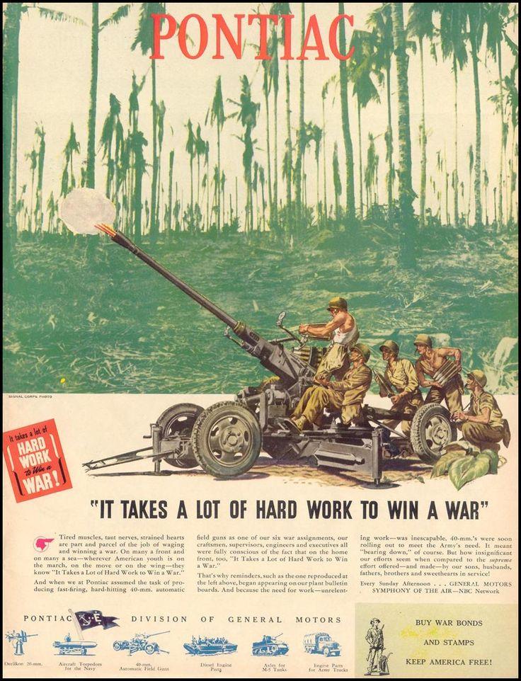 PONTIAC WAR PRODUCTION  LIFE  02/28/1944