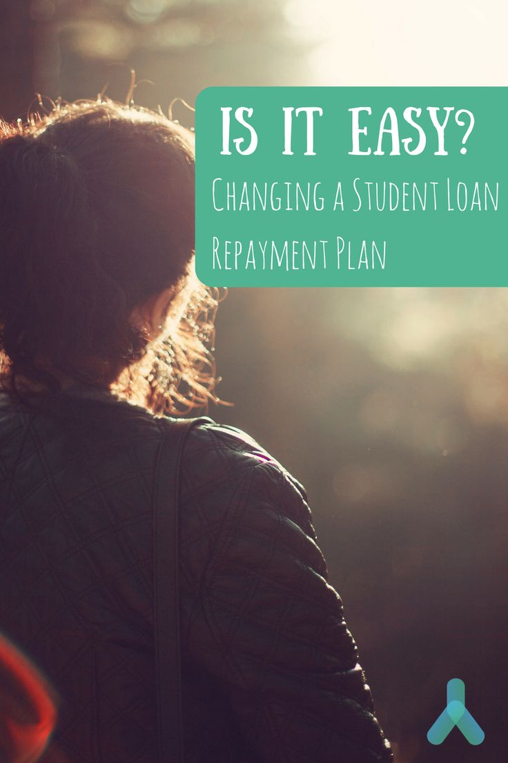 Changing your student loan repayment plan is possible. But, is it easy?