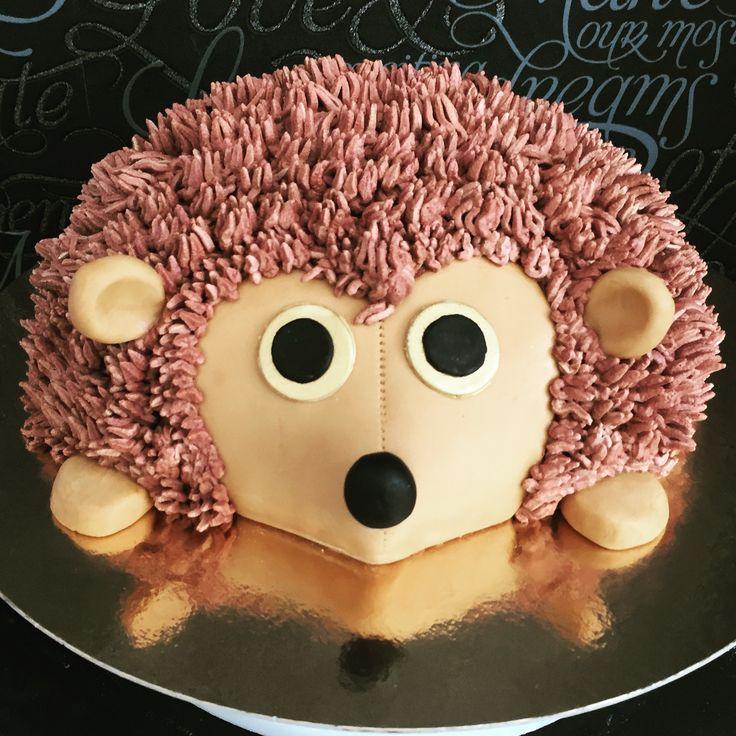 Hedgehog cake ideas, siilikakku