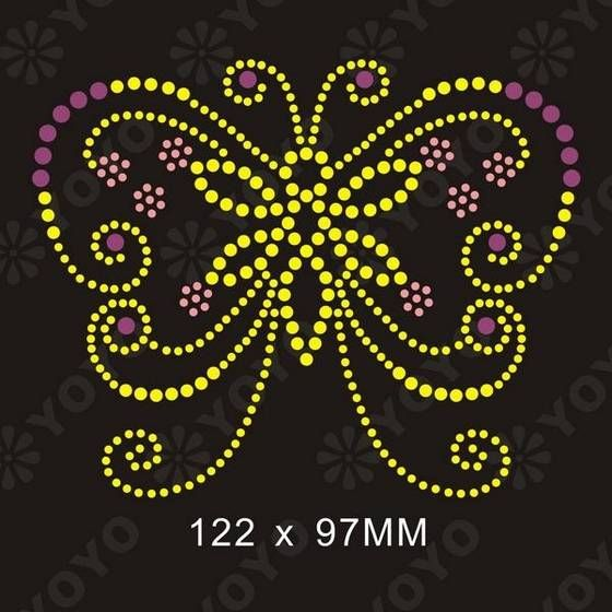 Rhinestone design patterns rhinestones patterns hotfix for Rhinestone template material wholesale