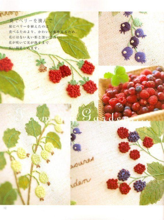 Master Collection Kazuko Aoki 11 - Embroidery Garden Notebook - Japanese craft book.