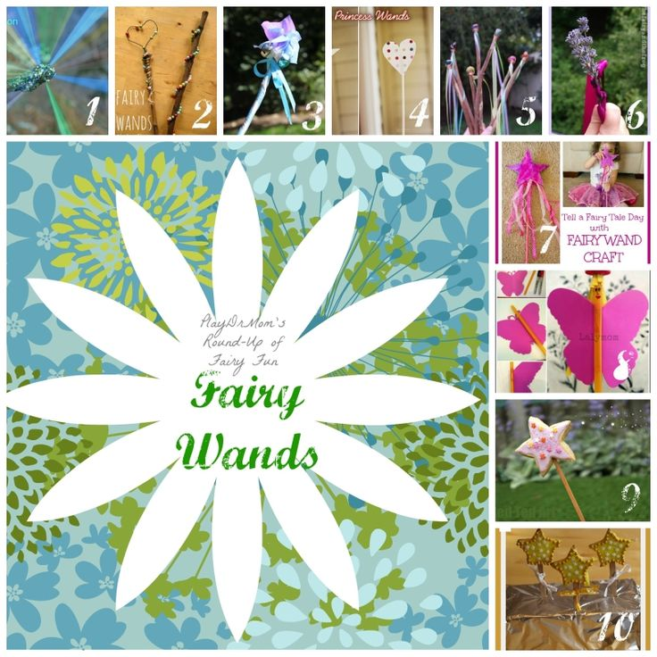 10 Ways to Make Your Own Fairy Wand! -