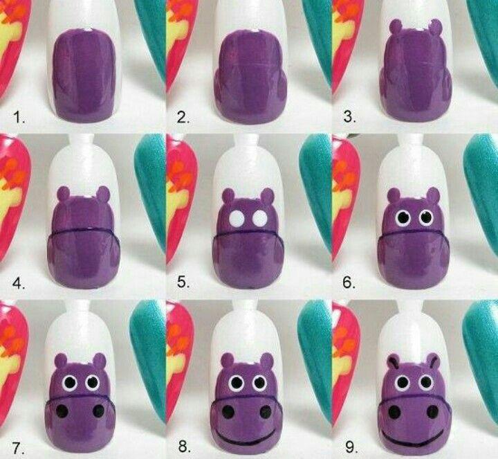 Nunca me habría dado cuenta que hacer un hipopótamo Era tan fácil