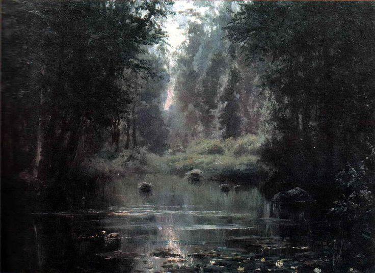 Поленов Василий Дмитриевич. Пруд