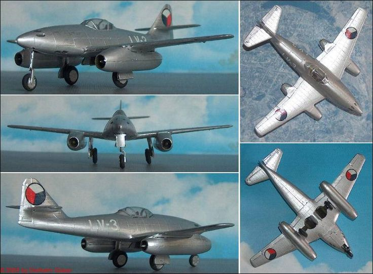 """CSSR: Avia S-92 (Messerschmitt Me 262/A-1a """"Schwalbe"""") (Revell 624)  1:72"""