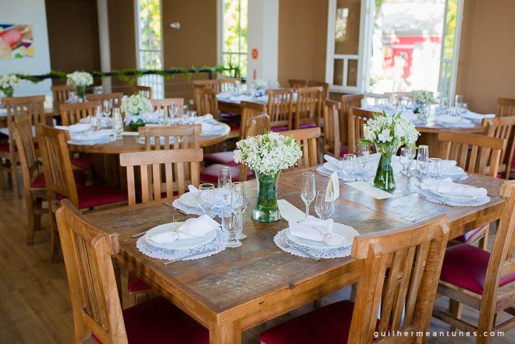 Mini wedding em restaurante em Florianópolis