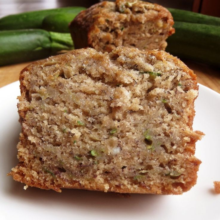 Zucchini Banana Bread by Rumbly in my Tumbly - I'm going to go out on a limb and say this was my favorite quick bread I've ever made. Lots of cinnamon-y banana flavors, and that shredded zucchini to make it super dense and moist.  So good.