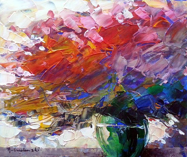 Morning by Andrzej Gudanski on ArtClick.ie Abstract Art