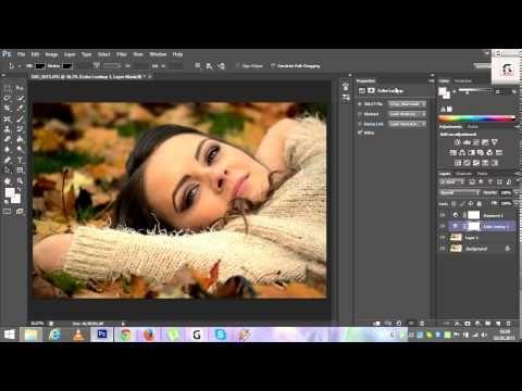 Simple portrait effect PS editing tutorial