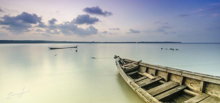 View from pulau dua