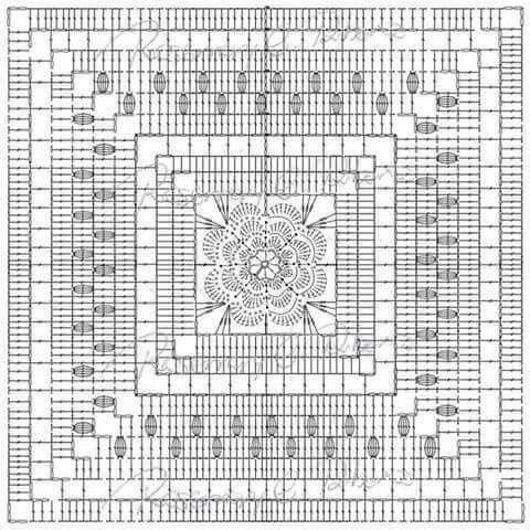 199 Best Crochet Flower Granny Images On Pinterest Crochet Blocks