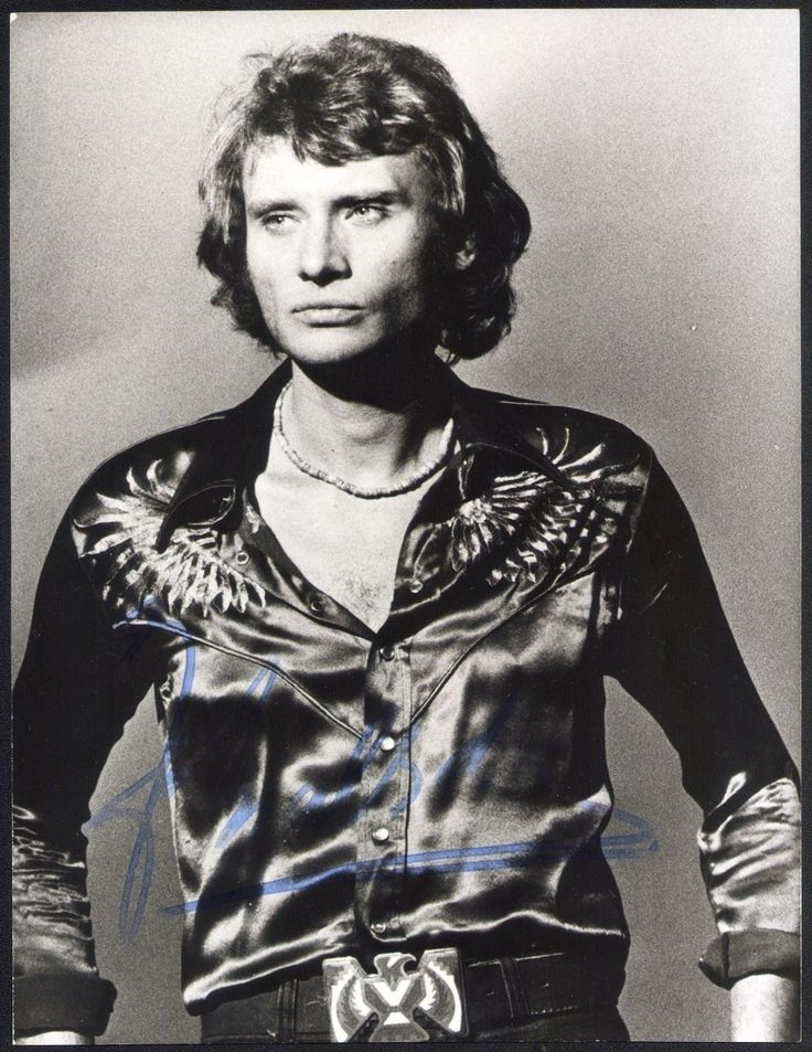 Johnny Hallyday (1943–2017) was a French rock'n'roll and pop singer and actor.