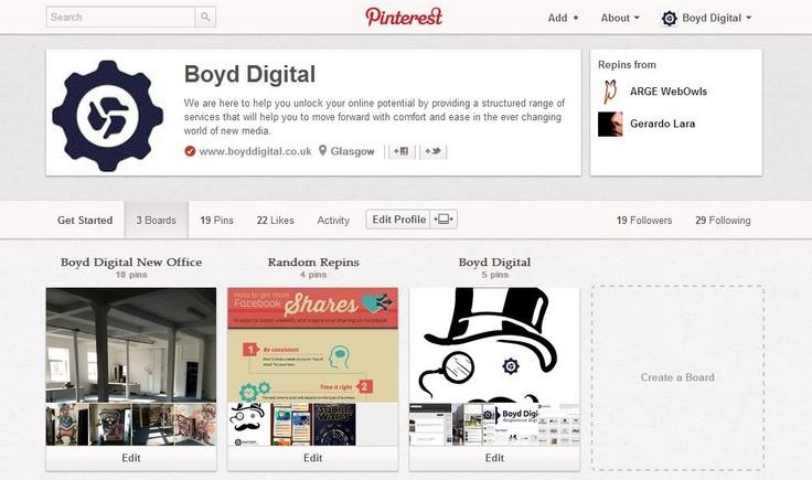 Boyd Digital on Pinterest
