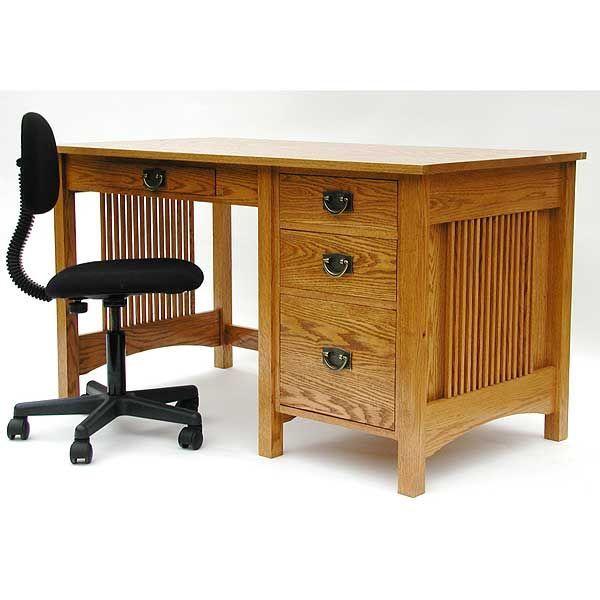 Best 25 craftsman desks ideas on pinterest craftsman for Craftsman furniture plans