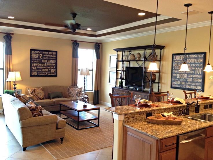 Best 25+ Small kitchen family room combo ideas on ...