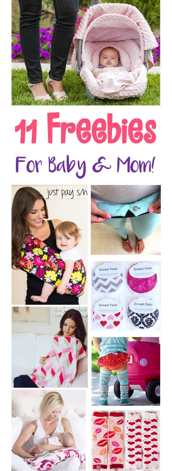 Free Baby Stuff!  How to Score 11 Fun Baby Freebies and goodies for New Moms!  These make the BEST Baby Shower Gifts, too! | TheFrugalGirls.com