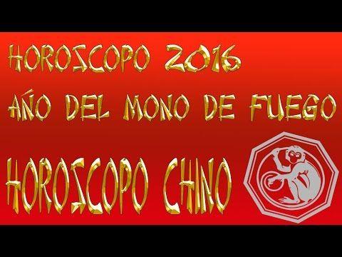 Horóscopo Chino 2016, Año del Mono de Fuego - YouTube