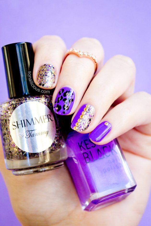31 best Leopard Print Nails images on Pinterest   Leopard print ...