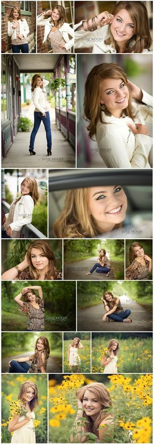 poses. senior portraits. girls. S