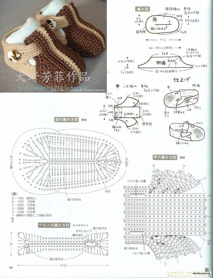 Este tipo de patrones son de los mas solicitados para tus proyectos en crochet, ya que todos deseamos vestir a nuestros bebes con zapatos abrigadores y cómodos para cualquier ocasión.