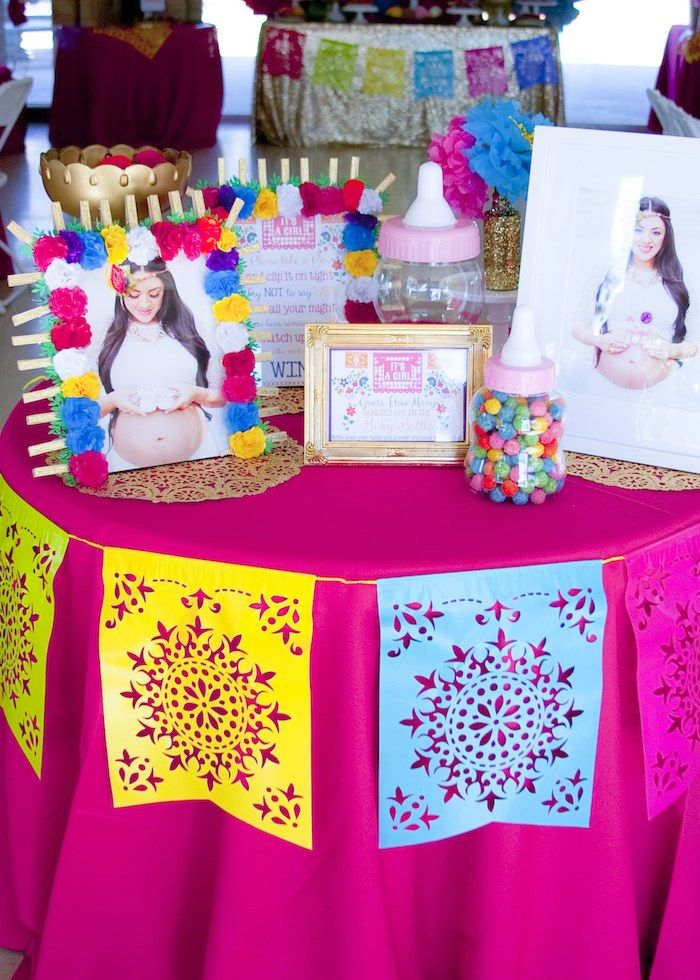 Nice Colorful Mexican Themed Baby Shower {Party Planning, Ideas, Decor}