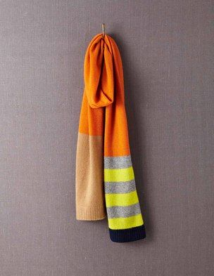I've+spotted+this+@BodenClothing+Cashmere+Scarf+Dark+Orange