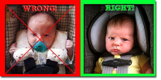 For Brae and Lilly and other Dads out there.  The picture guide to car seat safety - Daily Momtra.