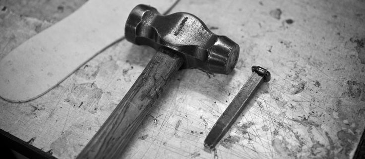 Hammer and Nail (shoe-making tooling essentials)