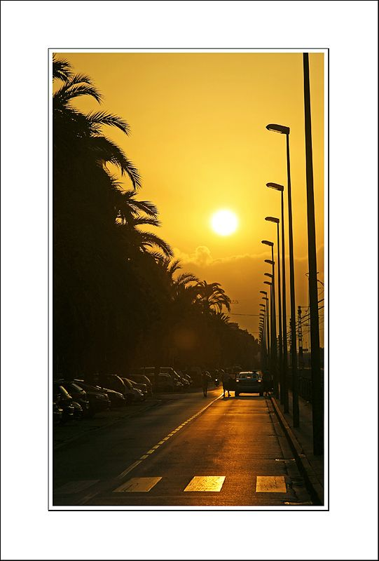 Sunrise at Santa Susanna, Barcelona, Catalonia_ Spain