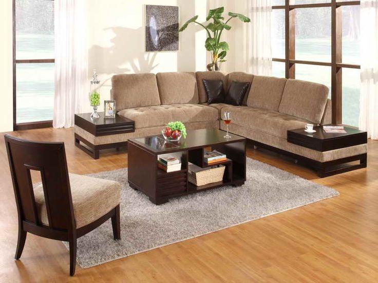 Die besten 25+ Brown l shaped sofas Ideen auf Pinterest gelbe l - wohnzimmer couch leder
