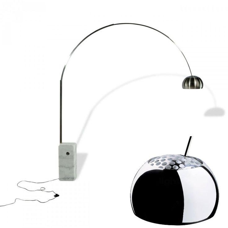 Le 25 migliori idee su lampade da terra ad arco su for Lampade da terra flos