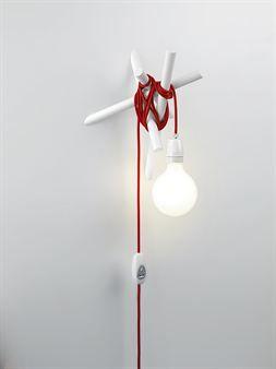Hayman hängare - vit - SMD Design