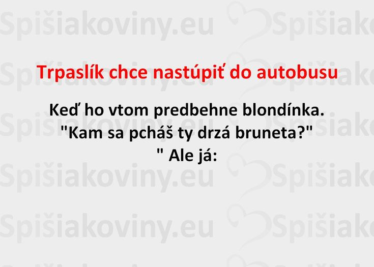 Trpaslík chce nastúpiť do autobusu - Spišiakoviny.eu