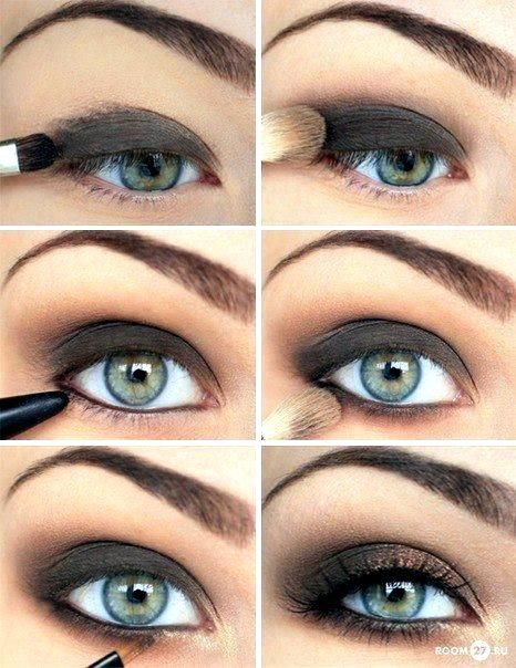 Smoke: Hair Beautiful, Makeup Tutorials, Dark Eye, Hair Makeup, Smoky Eye, Eye Makeup Tips, Makeup Beautiful, Smokey Eye, Makeup Hair
