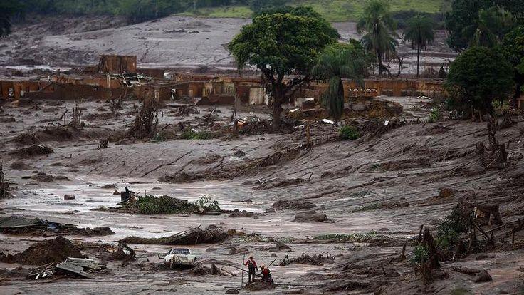 Le gouvernement brésilien va réclamer en justice 5,2 milliards de dollars à des compagnies minières accusées d'être responsables de la plus grande catastrophe environnementale de l'histoire du Brésil. Une immense coulée de boues toxiques s'est répandue sur 650 kilomètres jusqu'à l'Atlantique suite à la rupture de deux barrages miniers.